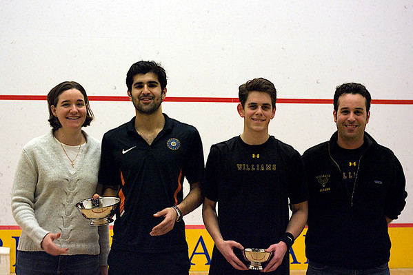 Pam Saunders (Yale), Naishadh Lalwani  (Yale), Ethan Buchsbaum (Williams), Zafi Levy (Williams)