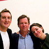 Garth Webber, Dave Talbott, and Pam Saunders