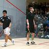 2011 Men's College Squash Association Team Championships: Chris Callis (Princeton) and Kenneth Chan (Yale)