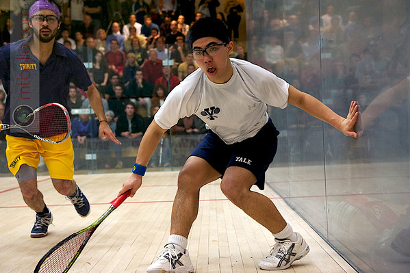 Andres Vargas (Trinity) and Kenneth Chan (Yale)