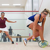 Yuleissy Ramirez (Harvard) and Katie Harrison (Yale)  - 2011 Ivy League Scrimmages