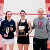 2012 College Squash Individual Championships: Millie Tomlinson (Yale), Amanda Sobhy (Harvard), Mike Way