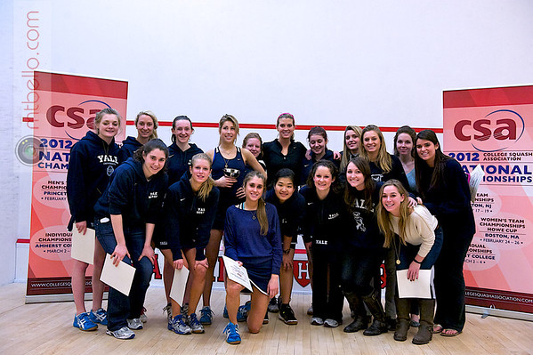 2012 Women's National Team Championships (Howe Cup): Yale