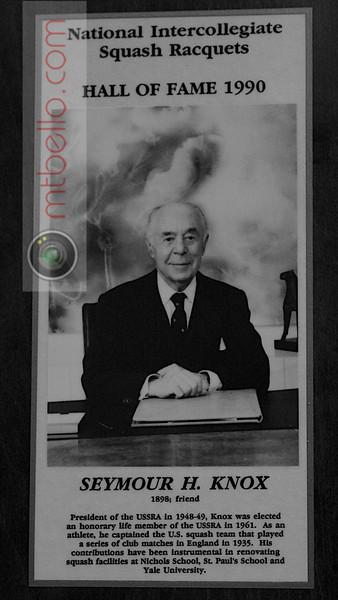 Men's College Squash Hall of Fame: Seymour Knox