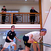 2012 College Squash Individual Championships: John Roberts (Yale) and Andres Duany (Rochester)
