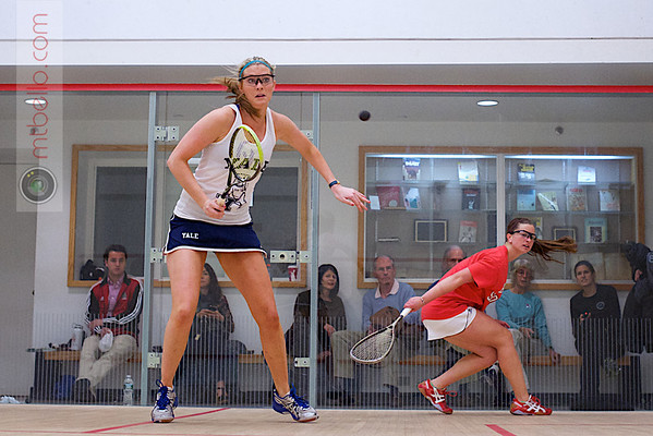 2012 Ivy League Scrimmages: Lydia Smith (Brown) and Lillian Fast (Yale)