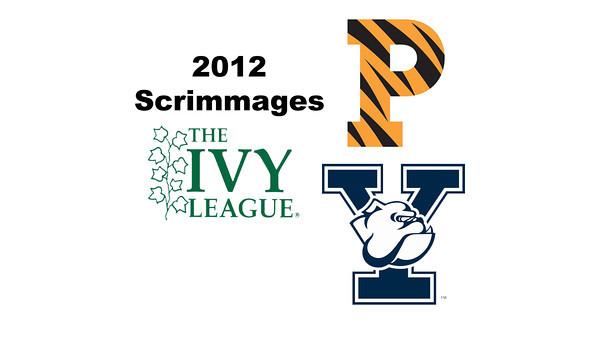 2012 Ivy League Scrimmages - Ms: Ash Egan (Princeton) and Pehlaaj Bajwa (Yale)