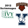 2012 Ivy League Scrimmages - W1s: Millie Tomlinson (Yale) and Dori Rahbar (Brown)