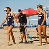Marcio Sicoli instructs Delaney Knudsen and Kaity Bailey