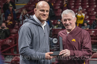 Cael Sanderson, Penn State, 2019 Big Ten Coach of the Year