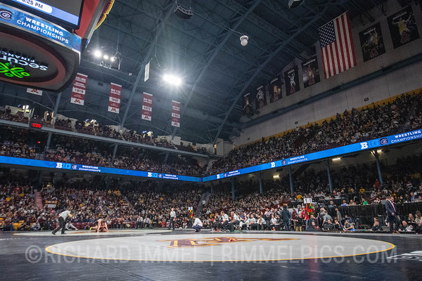 2019 Big Ten Championships, Williams Arena, Minneapolis, Minn., March 9-10.