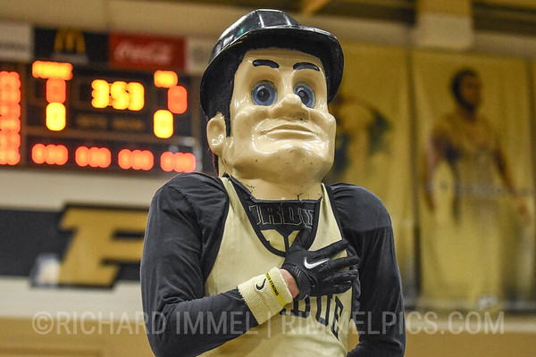 No. 17 Purdue 28, Maryland 10, at Holloway Gymnasium, West Lafayette, Ind., Jan. 11, 2019