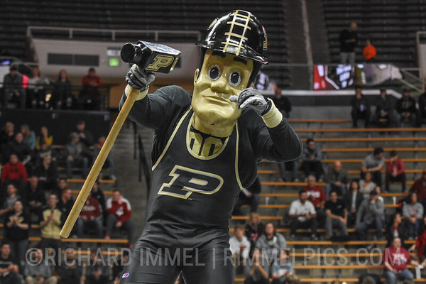 No. 18 Purdue 18, Indiana 11, at Mackey Arena, West Lafayette, Ind., Jan. 18, 2019