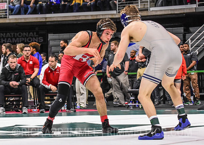 125: Nick Suriano (Rutgers) dec. Travis Piotrowski (Illinois), 9-2