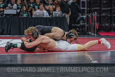 125: No. 1 Spencer Lee (Iowa) maj. dec. No. 9 Devin Schroder (Purdue), 16-2