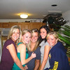 Christmas break 08'-09' - with the girls, Mesissa Moritz, Casey, ?, Rachael Kemmey and Lindsey Burke