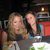 "Casey & Rachael Kemmey. I guess the girls decided to skip playing quizzno at Maggie O""Neill's on this night!"