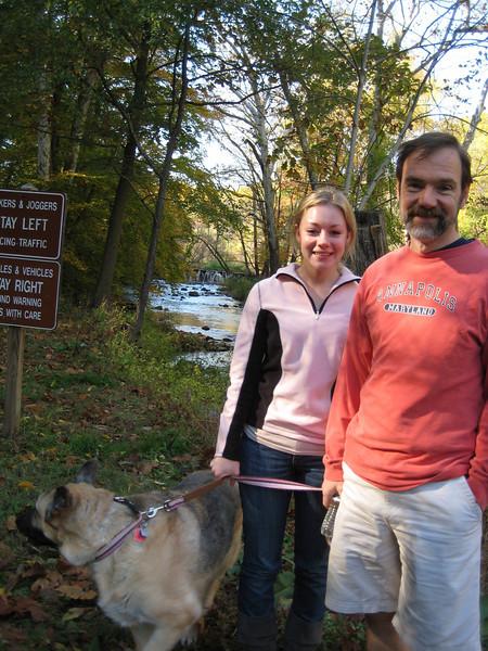 Casey, Dad & Nikki.