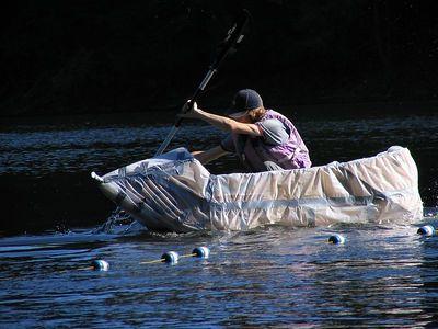 Second Annual Cardboard Boat Race