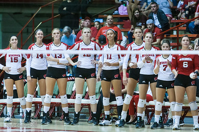 UW Sports - Volleyball - August 28, 2015
