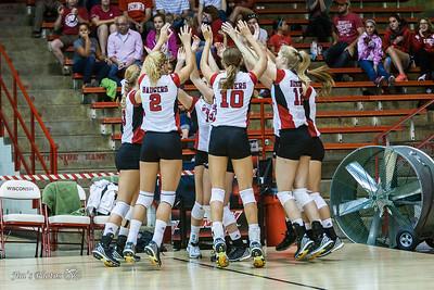 UW Sports - Volleyball Game 1 - August 29, 2015