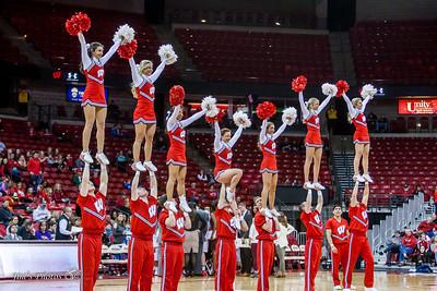 UW Sports - Cheerleaders - February 09, 2017