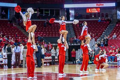 UW Sports - Cheerleaders - November 20, 2016