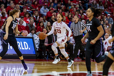 UW Sports - Women's Basketball - Jan 21, 2018