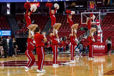 UW Sports - Badgers Cheerleaders - Dec 02, 2017