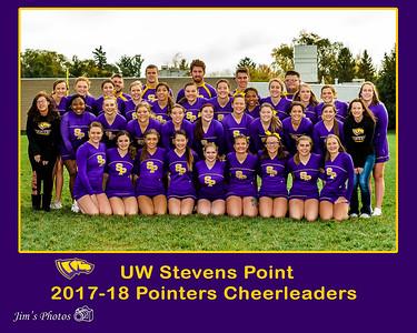 UW Sports - UWSP Cheerleaders - Oct 28, 2017