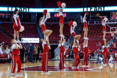 UW Sports - Badger Cheerleaders - Nov 12, 2017