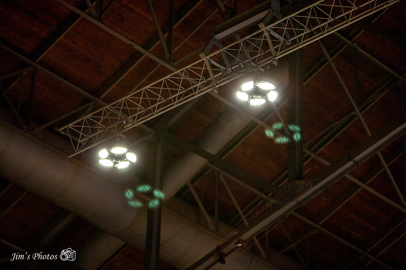 New LED Lighting in the UW Fieldhouse