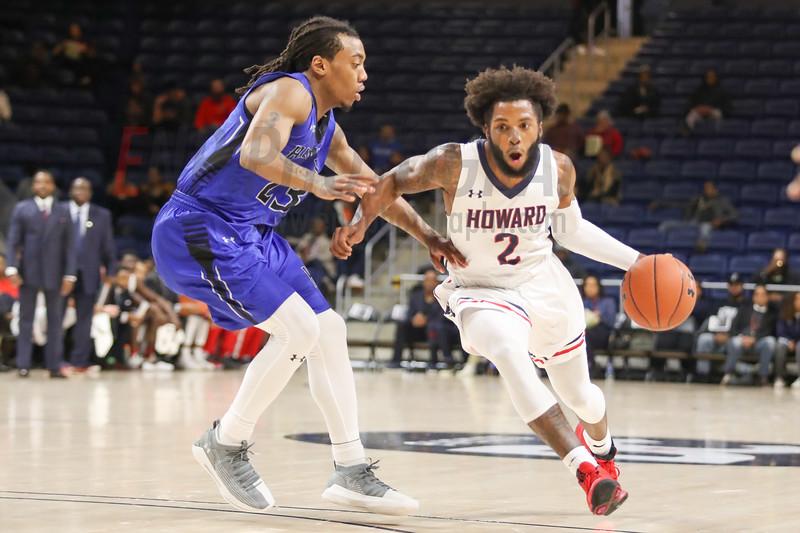 NCAA BASKETBALL: Hampton vs Howard