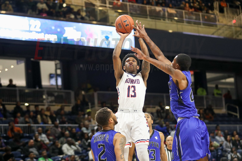 NCAA BASKETBALL: Hampton vs Howard
