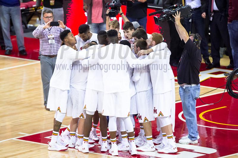 NCAA BASKETBALL NOV 16: Georgetown at Maryland