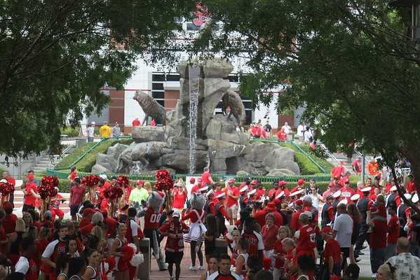 Troy at NC State 9-5-15