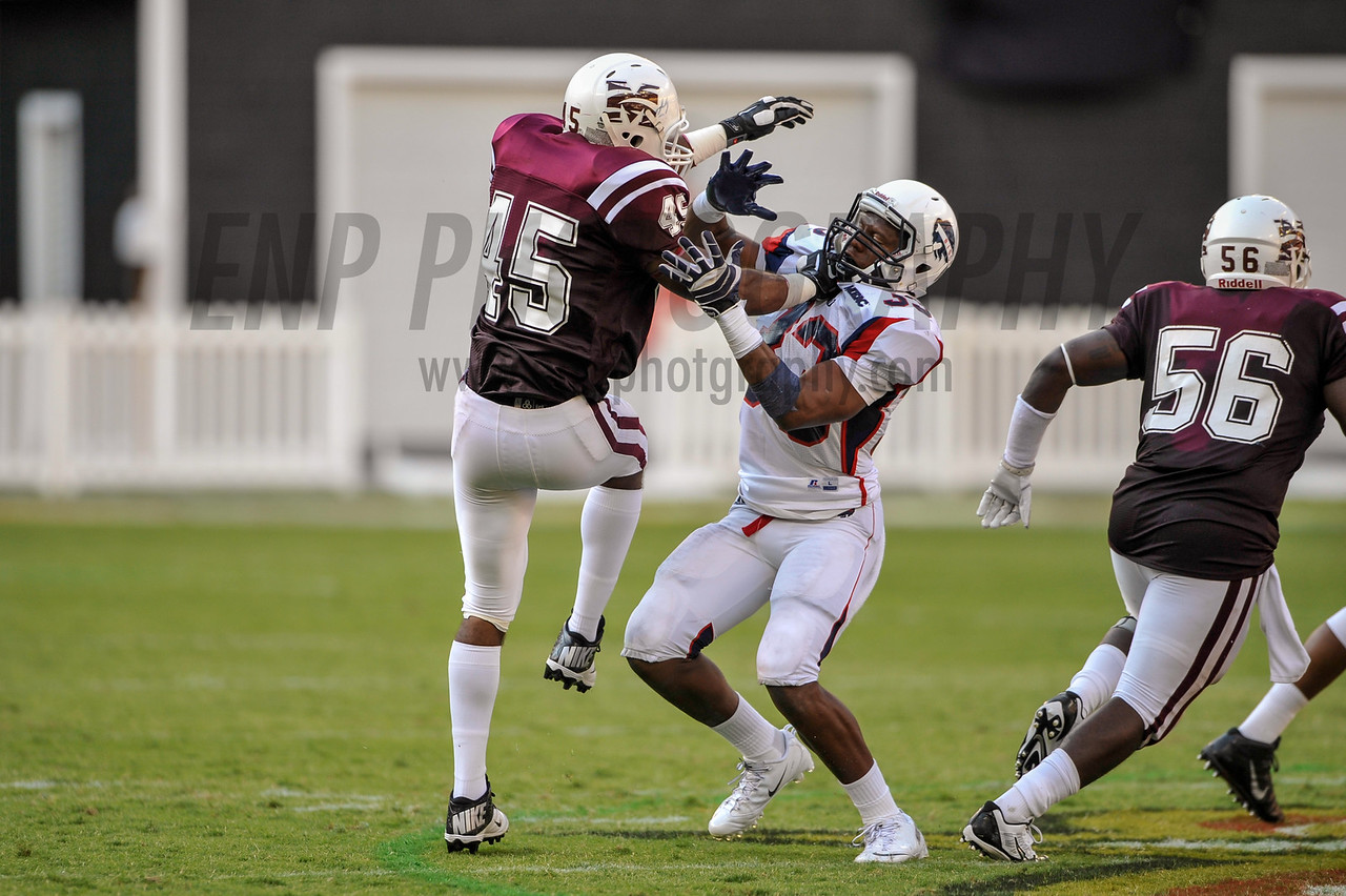 NCAA Football 2013: Howard defeats Morehouse 27-16 in the 2013 AT&T Nation's Classic at RFK Stadium.