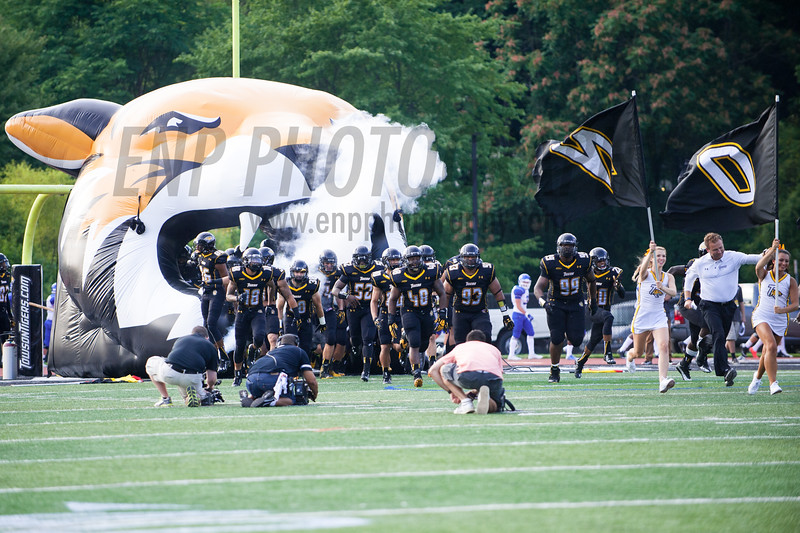 NCAA FOOTBALL: Central Connecticut State vs. Towson