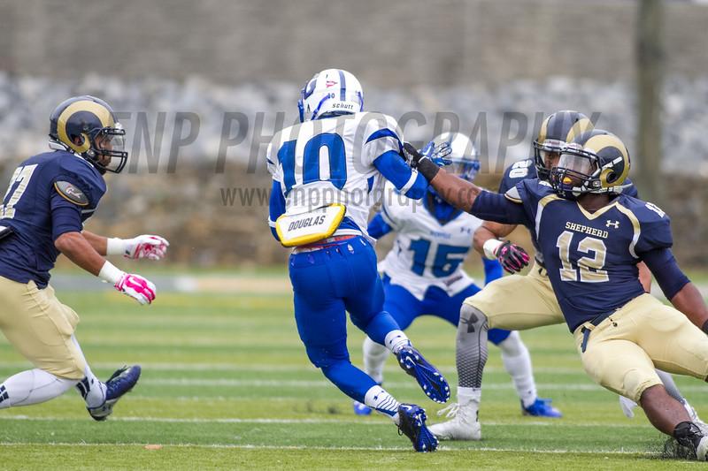 NCAA Football 2014: Glenville St. Pioneers vs Shepherd University Rams