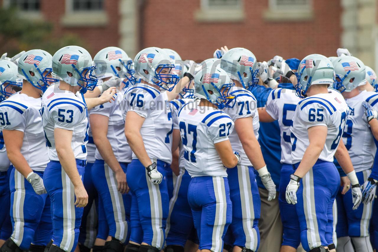 NCAA FOOTBALL 2014: Merchant Marine vs Springfield College