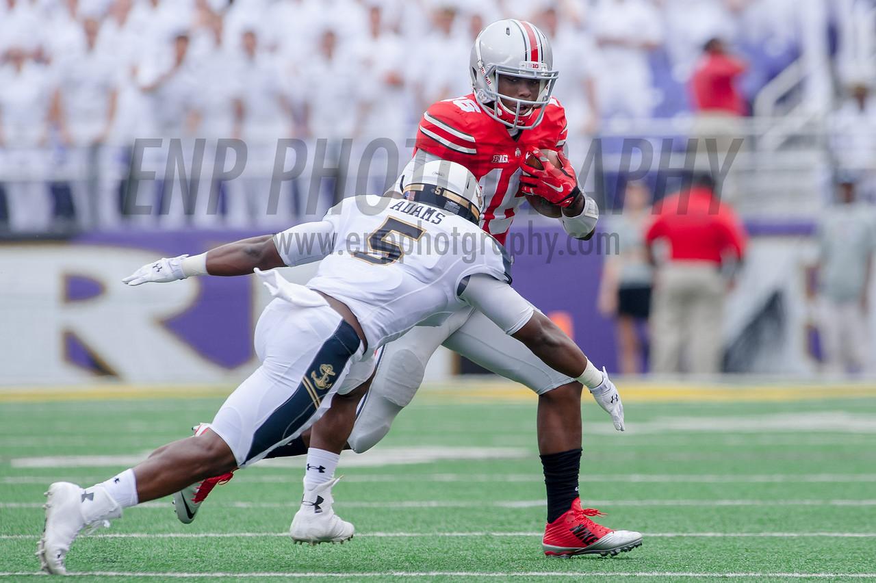 NCAA FOOTBALL: Ohio State vs. Navy Midshipmen