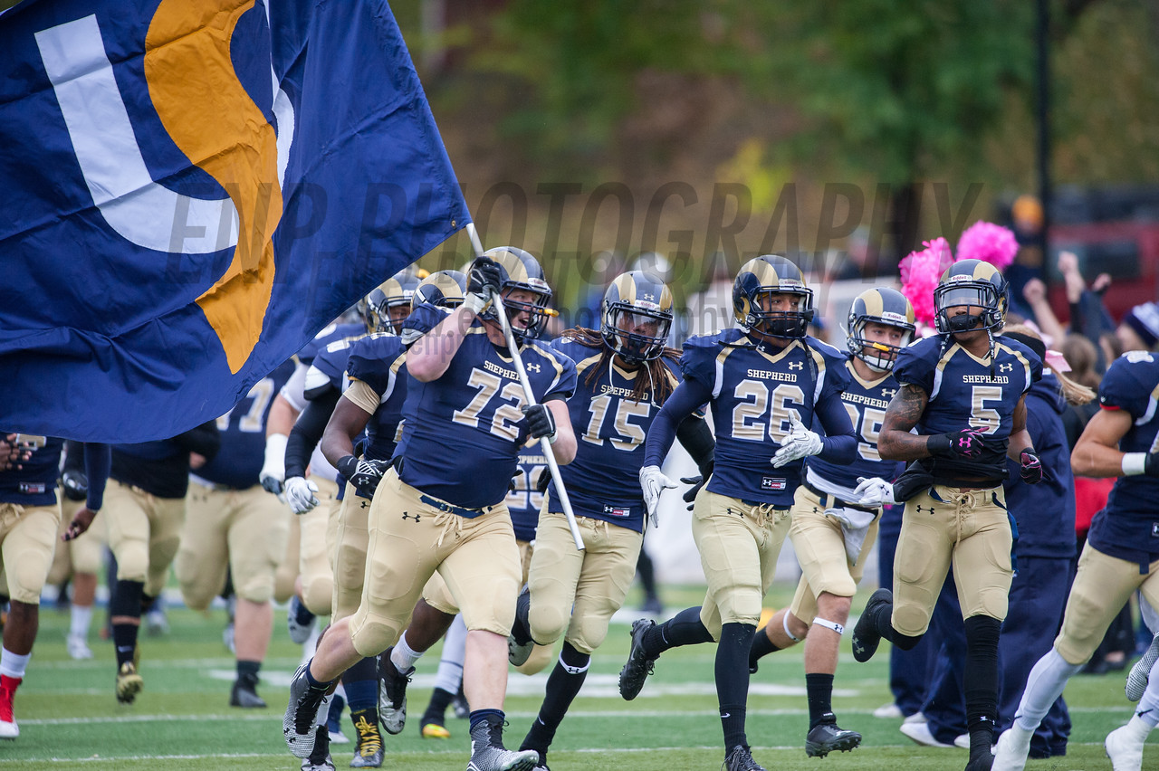 NCAA Football 2014: Glenville St. Pioneers vs Shepherd University Rams