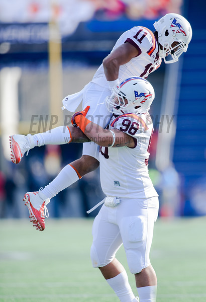 NCAA Football 2014: Military Bowl Virginia Tech vs. Cincinnati Bearcats