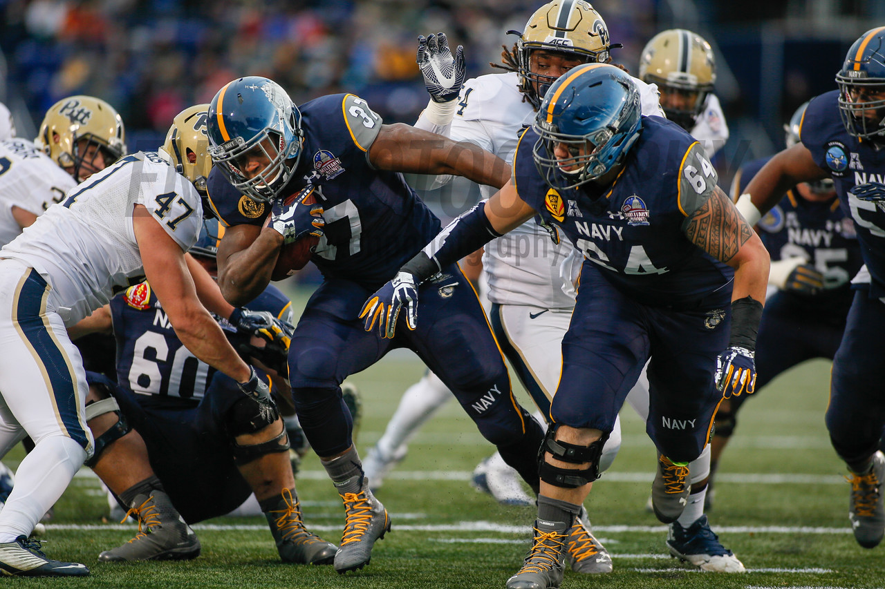 NCAA FOOTBALL: DEC 28 Pitt v Navy