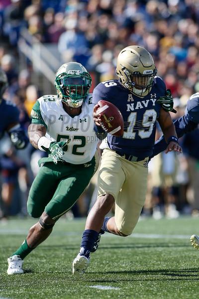 NCAA FOOTBALL: OCT 31 South Florida at Navy