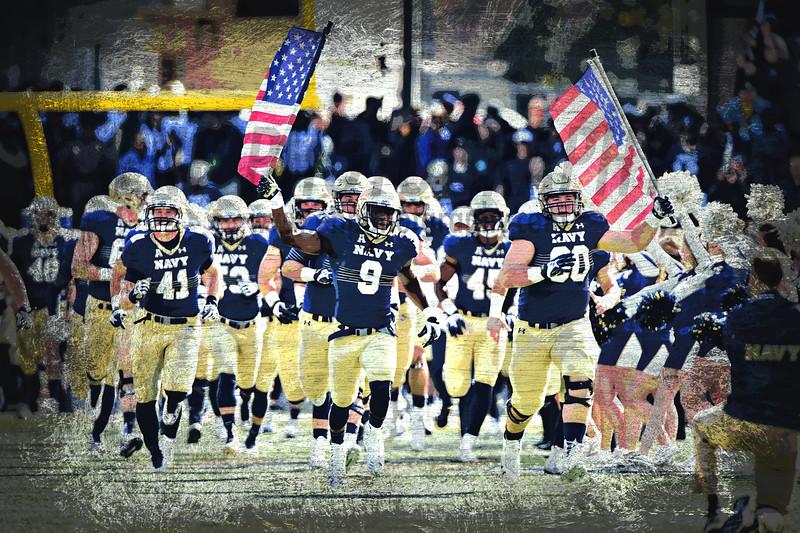 NCAA FOOTBALL OCT 31: South Florida at Navy Midshipmen