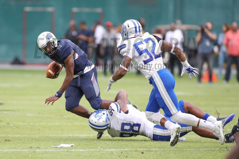 NCAA FOOTBALL: Hampton vs Howard
