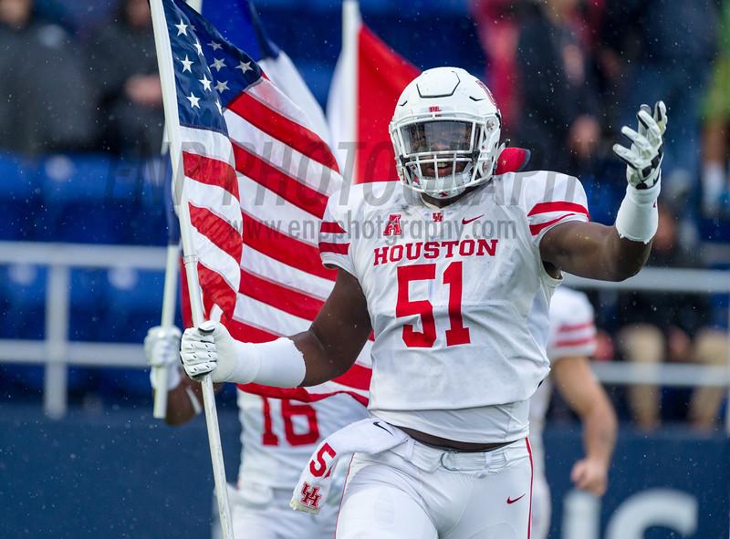 NCAA FOOTBALL: Houston vs. Navy