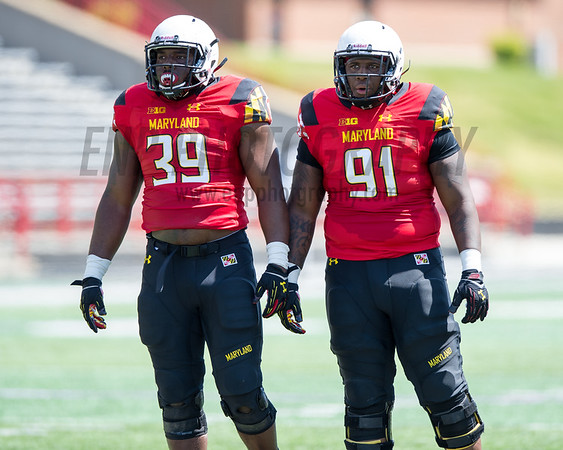 NCAA FOOTBALL APR 16: Maryland RED vs. WHITE Spring Game