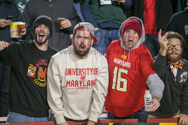 NCAA FOOTBALL: Michigan St. at Maryland